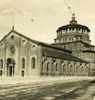 Italie Milan Église Santa Maria Delle Grazie Dominicains Ancienne Photo Stereo NPG 1900 - Stereoscopic