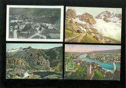 Lot De 60 Cartes Postales Anciennes De Suisse ( Drouille )    Mooi Lot Van 60 Oude Postkaarten Van Zwitserland ( Brol ) - Cartes Postales