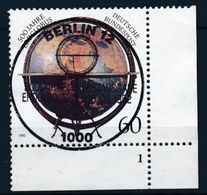 RFA - Globe Terrestre De Behaim YT 1458 Obl. / Bund - Erdglobus Mi.Nr. 1627 Gest. - [7] République Fédérale