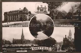 11777553 Sheffield Pinstone Street Norfolk Park Post Office Parish Church Botani - England