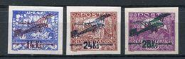 1919- CECOSLOVACCHIA- RARE STAMPS IMPERF. - 3 VAL. M.N.H.- LUXE !! - Cecoslovacchia