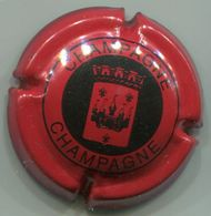 CAPSULE-CHAMPAGNE PANNIER N°30b Rouge & Noir - Pannier