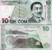 Kyrgyzstan 1997 - 10 Som - Pick 14 UNC - Kyrgyzstan