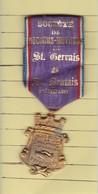 Médaille >   Identifier (Secours Mutuels St Gervais)  (Format Voir Le Scanne) - Autres Collections