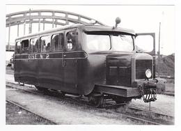 CPM TRAIN VOIR DOS 60 Noyon Autorail Billard A 50 D Oise N°2 En 1952 - Trains