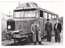CPM TRAIN VOIR DOS 60 Noyon Autorail Billard A 50 D Oise N°1 En 1952 - Trains