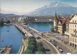 Luzern - Blick Auf Seebrücke Mit Pilatus   (Wz-L-1- 260) - LU Luzern