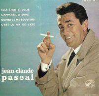 """Jean Claude Pascal / Serge Gainsbourg  """"  Elle était Si Jolie  """" - Vinyl Records"""