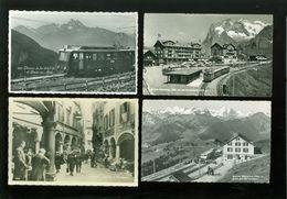 Beau Lot De 60 Cartes Postales Semi Modernes Petit Format De Suisse      Mooi Lot Van 60 Postkaarten Van Zwitserland - 5 - 99 Cartoline