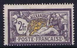 Alexandrie Yv 32a  Violet Foncé  MH/* Flz/ Charniere - Alessandria (1899-1931)