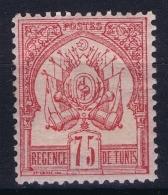 Tunesia  Yv 8 MH/* Flz/ Charniere - Tunisia (1888-1955)