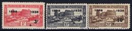 Tunesia  Yv  202 - 204  MH/* Flz/ Charniere 1938 - Tunisia (1888-1955)