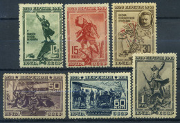 Unione Sovietica 1940 Mi. 780-785 Nuovo ** 100% Battaglia Di Perekop - Unused Stamps