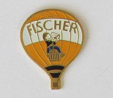 1 Pin's MONTGOLFIERE - BIERE FISCHER - Montgolfières