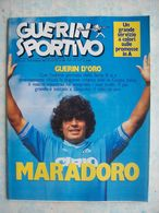 GUERIN SPORTIVO=NR.25 DEL1985=MARADONA+LAUDRUP+SERENA+RIVERA+BAYERN MONACO+... - Sport