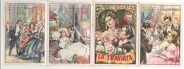 Calendarietto Da Barbiere 1963 La Traviata Lirica Calendarietti Old Calendar - Petit Format : 1961-70