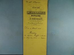 Acte Notarié 1893 Donation De Lecoffre De Baileux à André De Baileux /01/ - Manuscrits