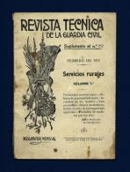 Revista Técnica De La Guardia Civil  (año 1931) - Documentos Antiguos