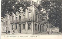 MONTBELIARD .26. LE BUREAU DES POSTES ET TELEGRAPHES . CARTE ANIMEE NON ECRITE - Montbéliard