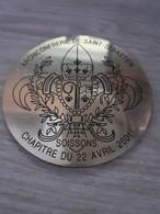 - Très Belle Plaque ( PVC - Face Aspect  Cuivre ) - Tir à L'Arc
