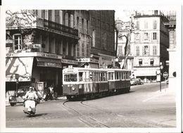 Photo-  Marseille --Tramway - Treni