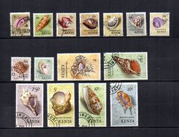 Kenia    1971  .-   Y&T  Nº   34/48 - Kenia (1963-...)
