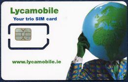 IRELAND - IRLANDE - IRLAND - IRLANDA GSM (SIM) CARD LYCAMOBILE MINT UNUSED - Ireland
