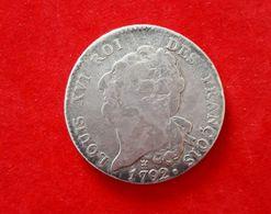 ECU DE 6 LIVRES LOUIS XVI - 1789-1795 Monnaies Constitutionnelles