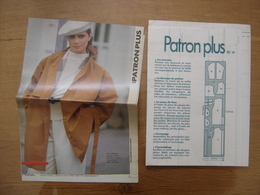 Patron Plus Patroon 39 MODE Vintage FASHION - Patrons