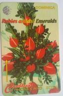 153CDMD EC$10  Rubies And Emeralds - Dominica