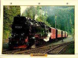 20 Fiches Techniques De Locomotive,LOT10 / - Trains