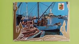 Cartolina MARINA DI RAVENNA - RA - Viaggiata - Postcard - Barche Al Porto - Ravenna