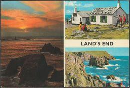 Multiview, Land's End, Cornwall, 1976 - John Hinde Postcard - Land's End
