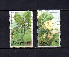 Kenia    1985  .-   Y&T  Nº   345/346 - Kenia (1963-...)