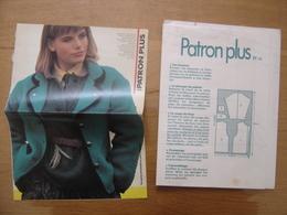 Patron Plus Patroon 43 MODE Vintage FASHION - Patrons