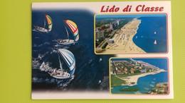 Cartolina LIDO DI CLASSE - RA - Viaggiata - Postcard - Vedutine - Ravenna