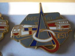 TRAIN PARIS SUD OUEST GRIS Pin's BALLARD - TGV