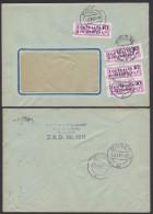 DDR ZKD B14(1602) (2) Kreisaufdruck BERLIN 017 VEB Funk- Und Fernmeldeanlagen, Doppelbrief, ZKD-Nr. 159 - [6] Oost-Duitsland