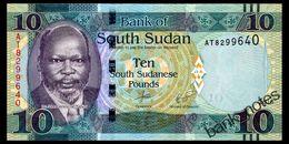 SOUTH SUDAN 10 POUNDS 2016 Pick 12b Unc - Zimbabwe