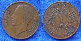 IRAQ - 1 Fils AH1357 1938AD KM# 102 Ghazi I (1933-1939) Asia - Edelweiss Coins - Iraq