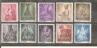 Spa Mi.Nr. 1028-37/  Spanien, Marianisches Jahr 1954 (Diverse Madonnen) ** MNH - 1931-Heute: 2. Rep. - ... Juan Carlos I