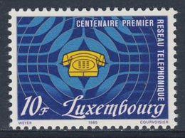 Luxemburg Luxembourg 1985 Mi 1123 YT 1073 ** Telephone / Telefon - 100 Jahre Fernsprechdienst Luxemburg - Telecom