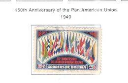 Bolivia PO 1940 150 Ann.Unione Pan Am.  Scott.269+See Scans On Scott.Page - Bolivia