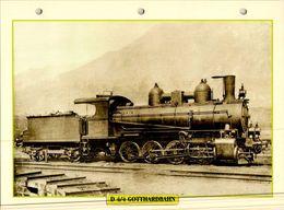 20 Fiches Techniques De Locomotive,LOT12 / - Trains