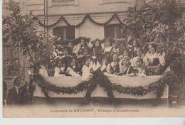 Souvenir De BELFORT Groupe D'Alsaciennes - Belfort - Ville