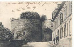 COUCY-LE-CHATEAU . PORTE DE SOISSON . ECRITE LE 25 JUIN 1911 - France