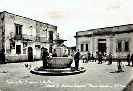 CONZA Della Campania : Piazza Fr. Antonio Cappone - Photo Véritable - Avellino