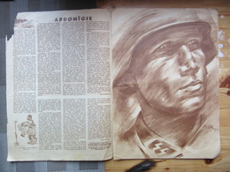 WWII Latvia Legioner Waffen SS Propaganda Magazine JUNDA Y 1943 - Riviste & Giornali