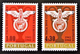 EMBLEME DU CLUB DE FOOT BENFICA 1963 - NEUFS ** - YT 914/15 - MI 933/34 - 1910-... República