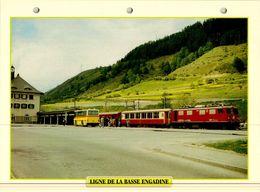 20 Fiches Techniques De Locomotive,LOT13 / - Trains